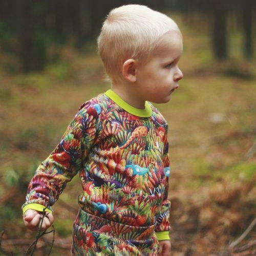 Long sleeve bodysuit - Jungle