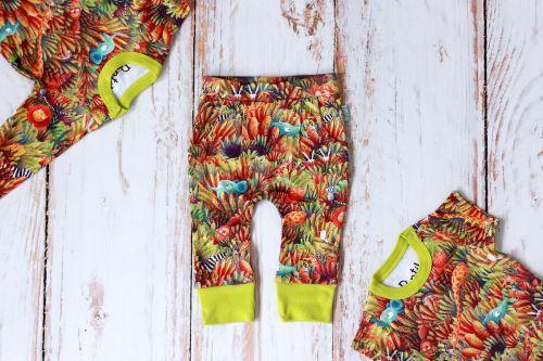 Jungle Set short + long sleeve body + trousers